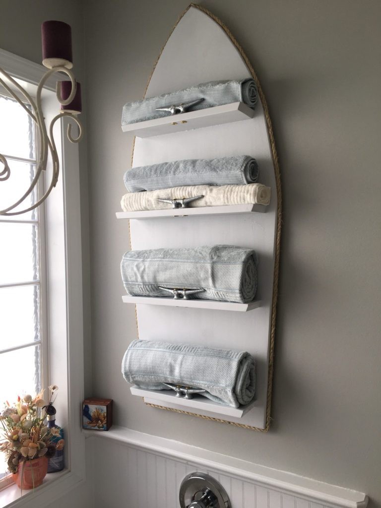 Boat cleat towel holder 768x1024