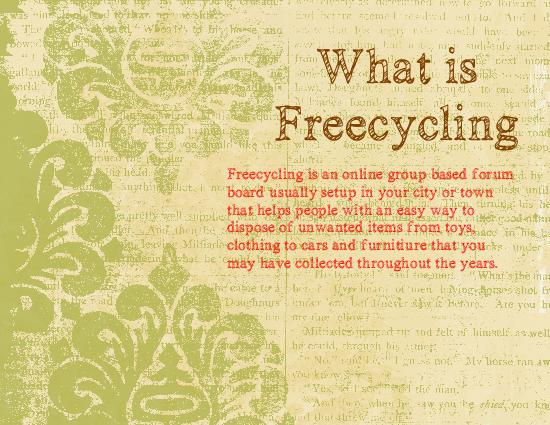 What is Freecycle