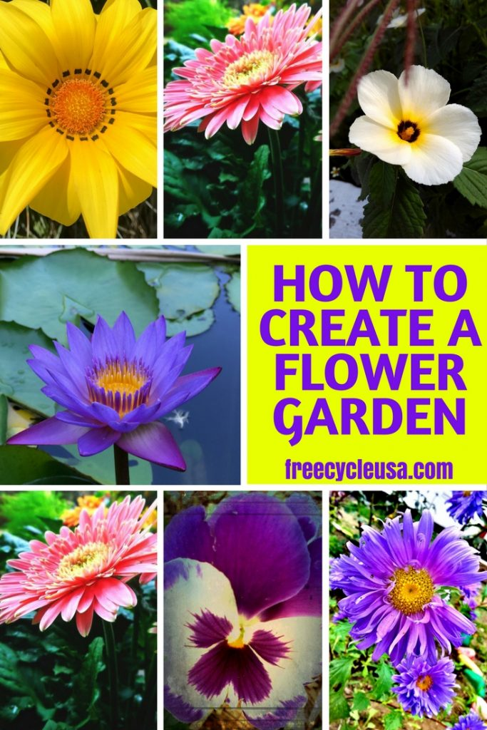 How To Create A Flower Garden